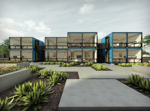 Jetson green shipping container apartments coming to Container appartement