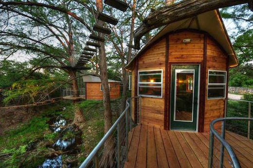 Circular Tree House jetson green - gorgeous treehouse is recycled and poweredthe sun