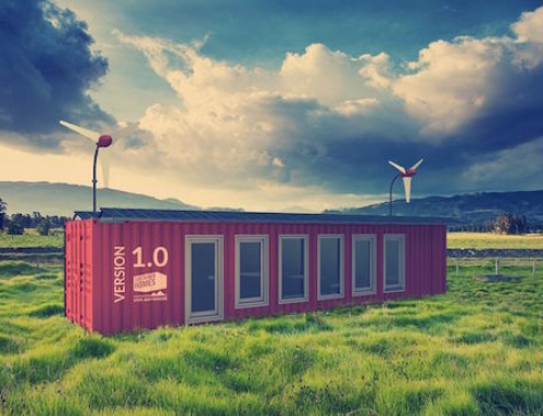 Sustainer Homes Made of Shipping Containers