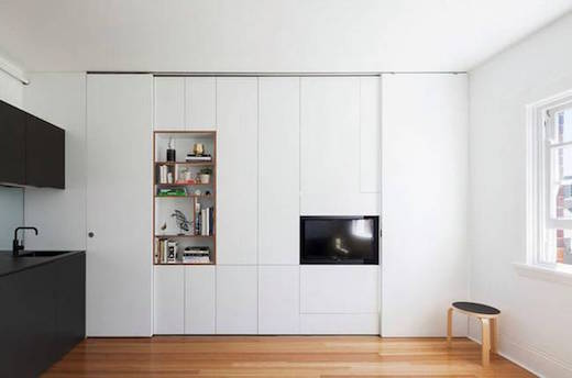 closed wallunit