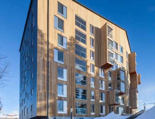 High Rise Made of Laminated Timber