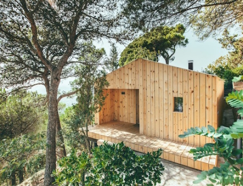 Simple Wooden House is Sustainable in More Ways Than One