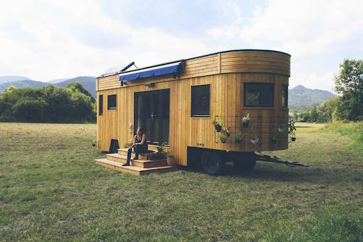 jetson green off the grid trailer tiny home. Black Bedroom Furniture Sets. Home Design Ideas