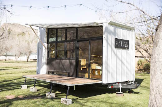 atlas is a new tiny house creation made by f9 productions of longmont colorado they describe it as a tiny houserv hybrid it offers a spectacular view - Tiny House Mobile