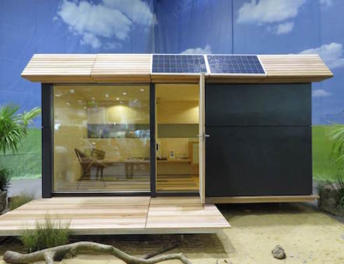 Scalable Off-Grid Eco Cabin