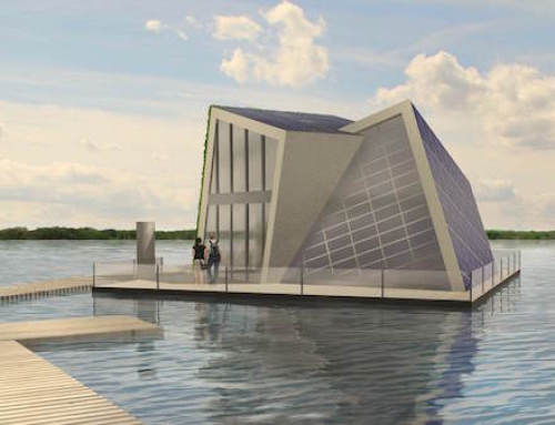 Off-the-Grid Floating Home
