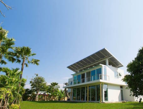 Homes Store Solar Power as Hydrogen for Later Use