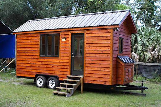 Tiny Victorian House Plans Small Cabins Tiny Houses Homes: Clever Loft-Less Tiny House Design