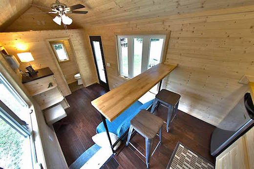 Jetson Green Clever Loft Less Tiny House Design