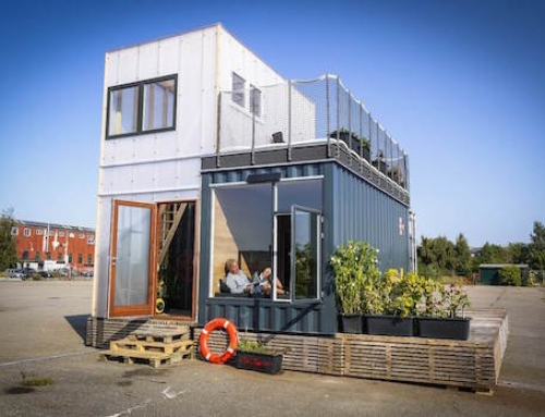 Student Housing Made From Shipping Containers