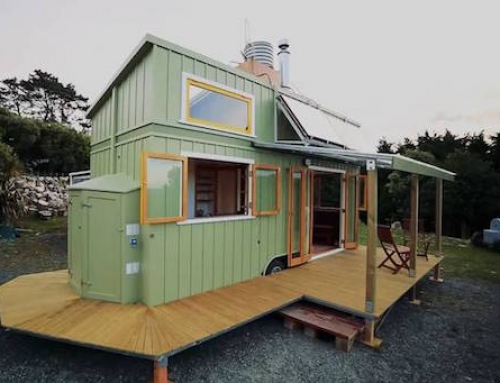 Tiny Home Made Out of SIPs and Recycled Materials