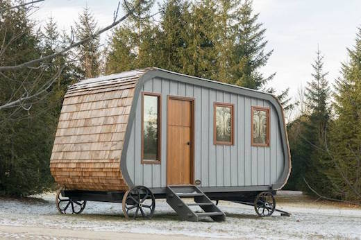 Jetson Green Lovely Tiny Cabin on Wheels