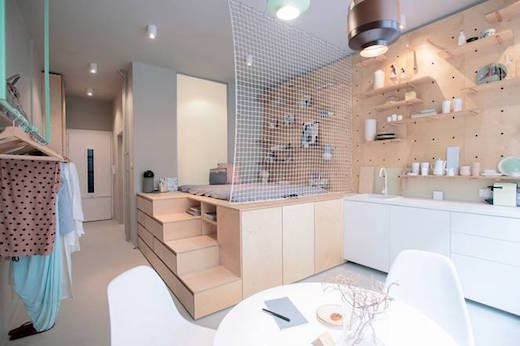 Small Apartment Renovation jetson green - awesome modern renovation of a small apartment