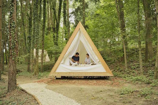 Jetson Green A Frame Cottages For Eco Friendly Glamping