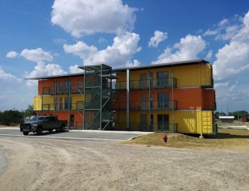 Shipping Container Apartment Complex Goes up in Texas