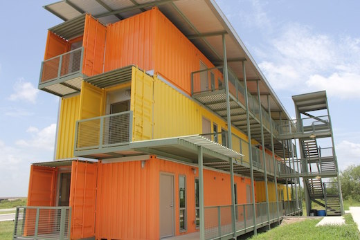 Jetson Green - Shipping Container Apartment Complex Goes up in Texas