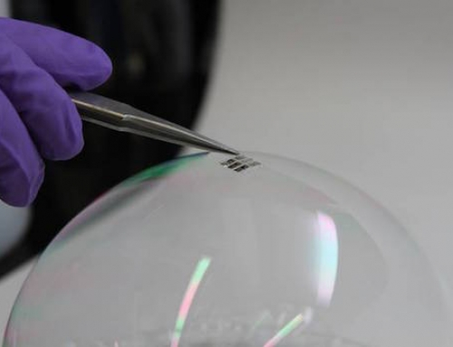 Thinnest and Lightest Solar Cell Produced