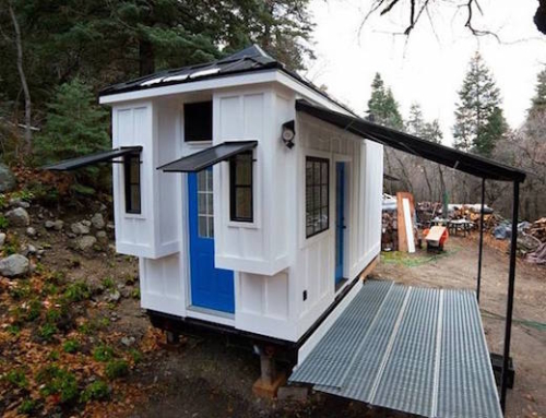 Light Filled Tiny Home Built as Rental Property