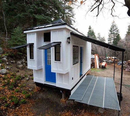jetson green light filled tiny home built as rental property
