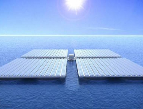 These Solar Panel Platforms Can Float on the Ocean