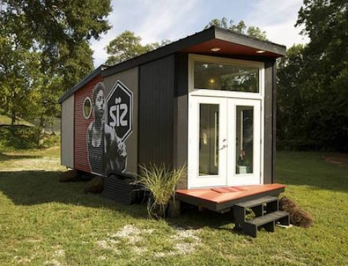 Modern Tiny Home Doesn't Skimp on Comfort