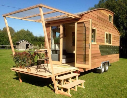 Quaint Tiny Home Trailer