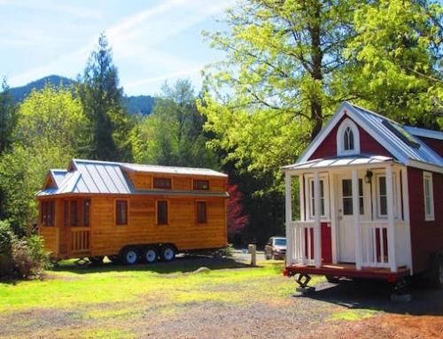 Spend Your Vacation in a Tiny House Village