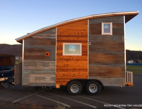 Spacious Off-The-Grid Tiny home