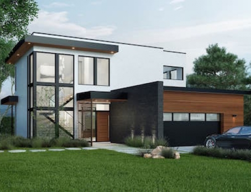Net Zero Prefab Home Built in California