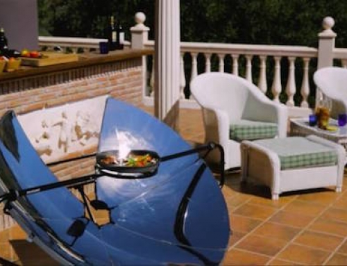 Use Solar Power to Grill Your Burgers This Summer