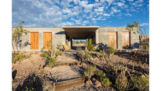 Jetson green house built using the soil on which it stands - The rammed earth hacienda ...