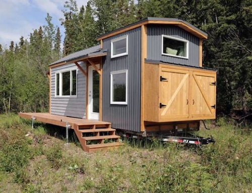Mother of Two Builds Tiny Family Home in Alaska
