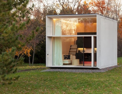 Prefab Micro Home That Can be Moved Around Easily
