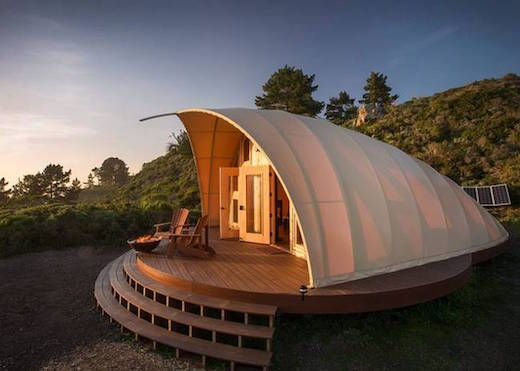 Each Autonomous tent is constructed out of a hi-tech fabric which is also resistant to rot and mildew. This fabric is attached to a sturdy frame ... & Jetson Green - Perfect Tents for Off-grid Glamping