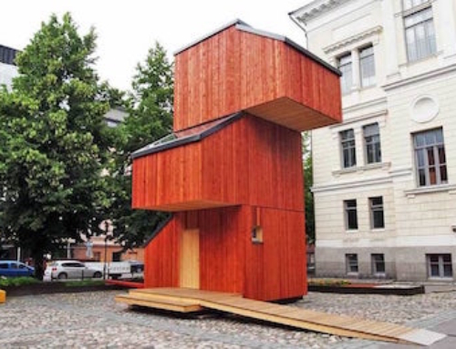 Interesting Shelter for Finland's Downtrodden