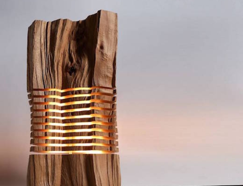 Gorgeous Lamps Made of Reclaimed Wood