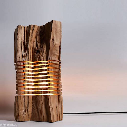 Wood has many uses  from providing heat  furniture and raw building  materials  but now it has another one  namely providing illumination. Jetson Green   Gorgeous Lamps Made of Reclaimed Wood