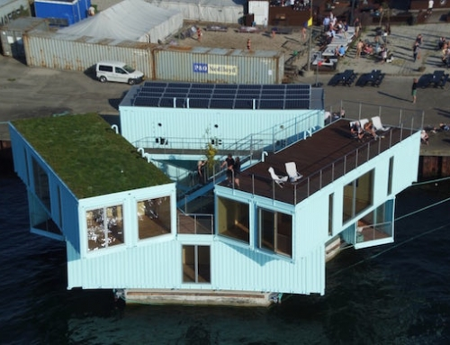 Student Housing Made of Shipping Containers