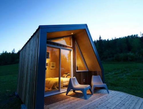 A Well Insulated Tiny Cabin