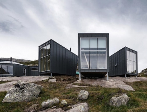Off-Grid Mountain Lodge Completed in Norway