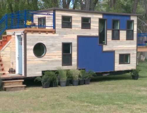 Unique Tiny Lodge on Wheels
