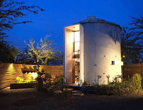 Grain Silo Converted Into a Unique Home