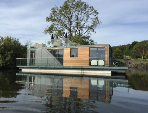 Prefab Houseboat That's as Comfortable to Live in as Any House
