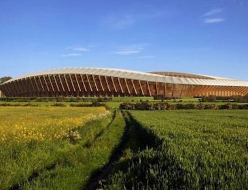 UK Team to Get a Sustainable Wooden Stadium
