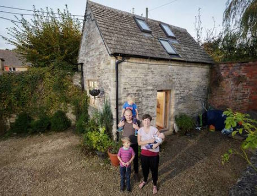 Family Moves to a Tiny Home