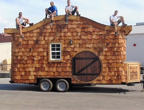 Take Your Hobbit House With You