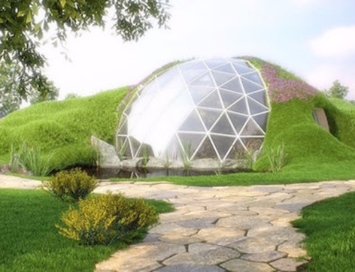 Geodesic Biodomes are Sustainable and Very Cool