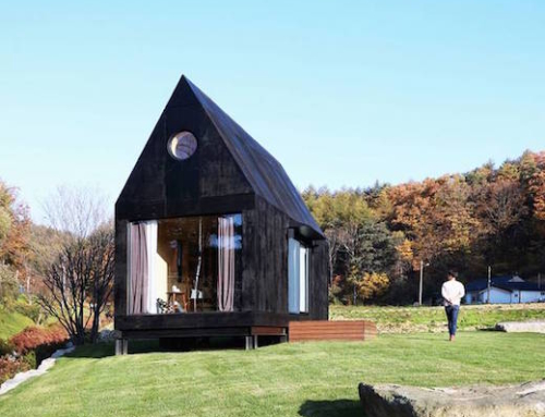 Tiny Minimalist Home Made of Wood