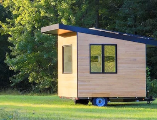 An Awesome Towable Tiny Office