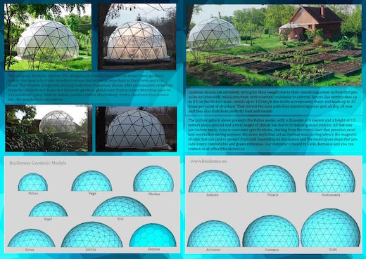 Jetson Green Geodesic Biodomes Are Sustainable And Very Cool